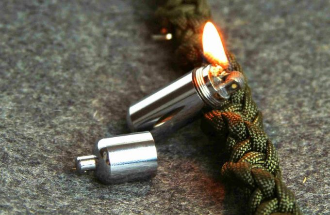 lighted capsule lighter