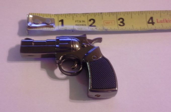 small gun shaped torch lighter