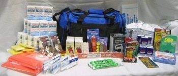 4 Person Perfect Survival Kit Deluxe for Earthquake