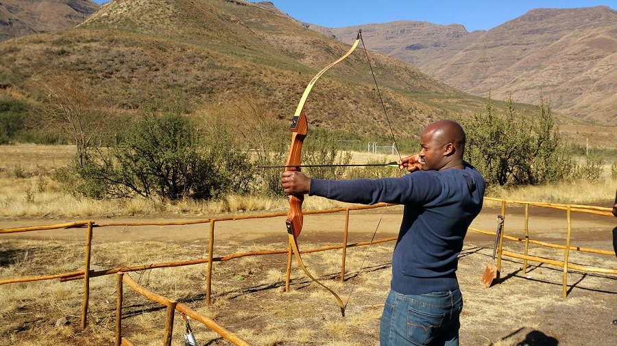 Benefits of a bow and arrow