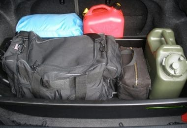 Car survival kit items