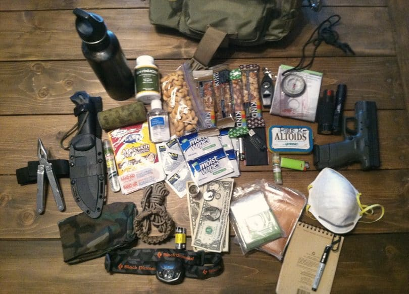 Homemade survival kit