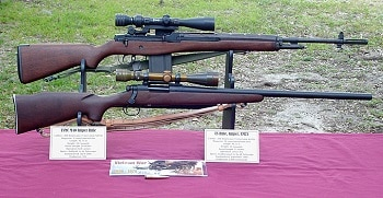M21 Long Range rifle