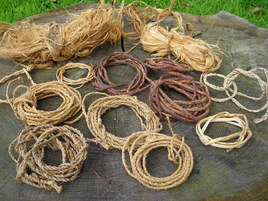 Making ropes and cords