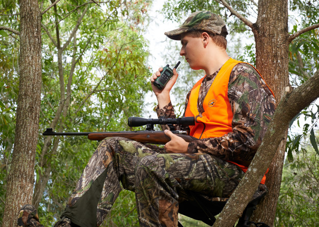 Radio for hunting