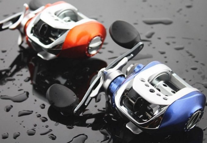 Shielded baitcasting reel