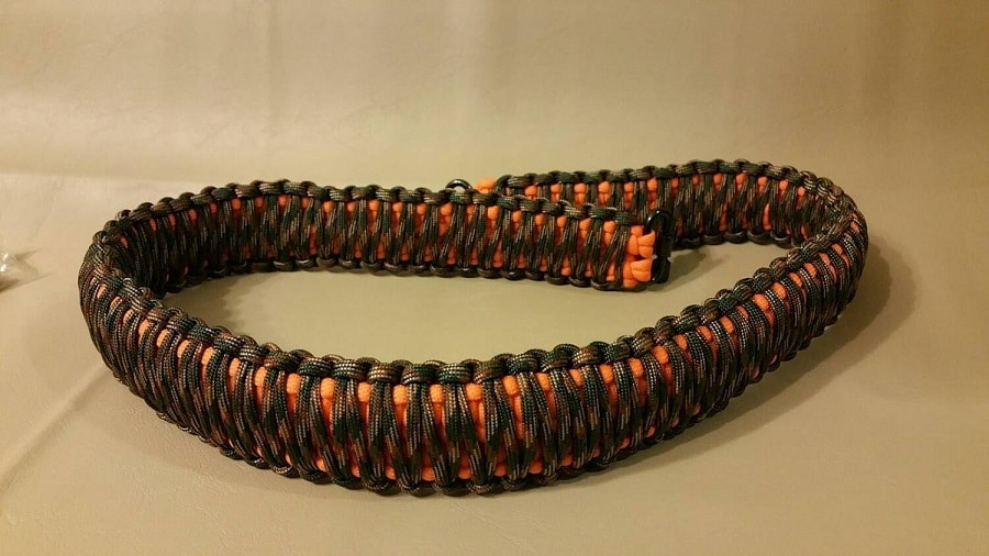 paracord rifle sling tying the knot to improve your rifle