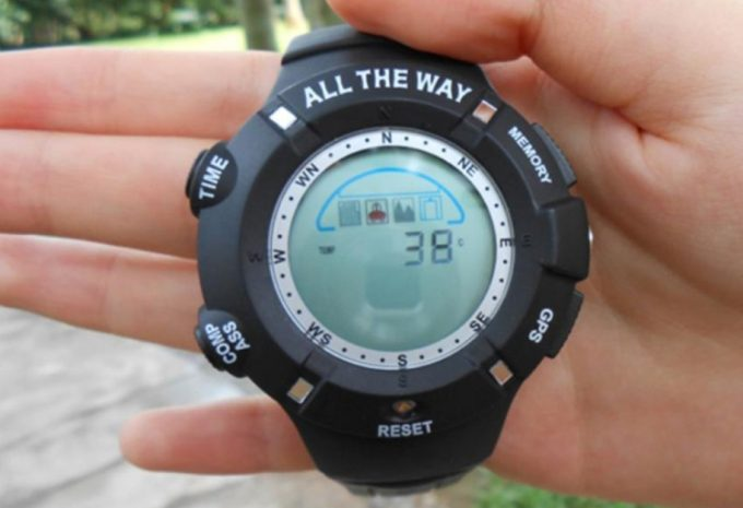 gps compass watch