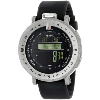 Vestal Stainless Steel Digital Watch