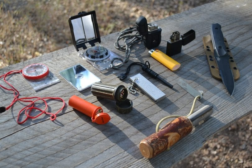 3 Day survival items