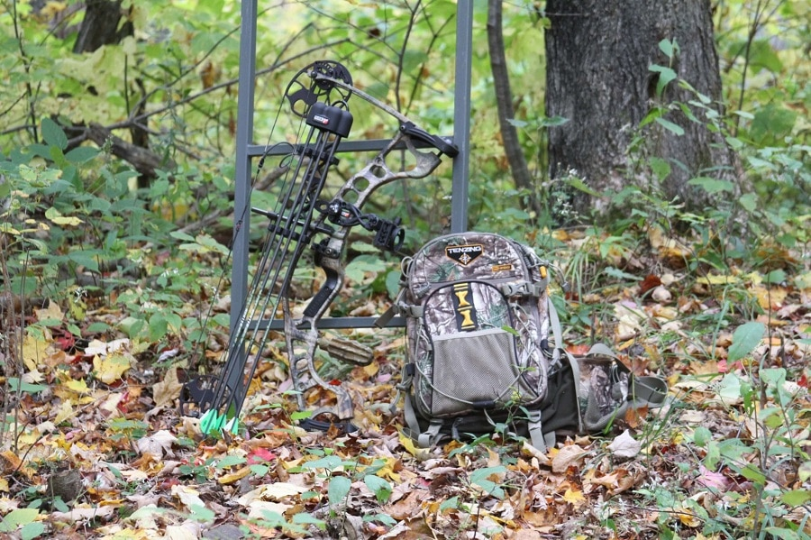 Backpack for hunting