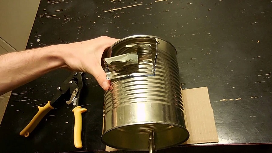 Building camp stove
