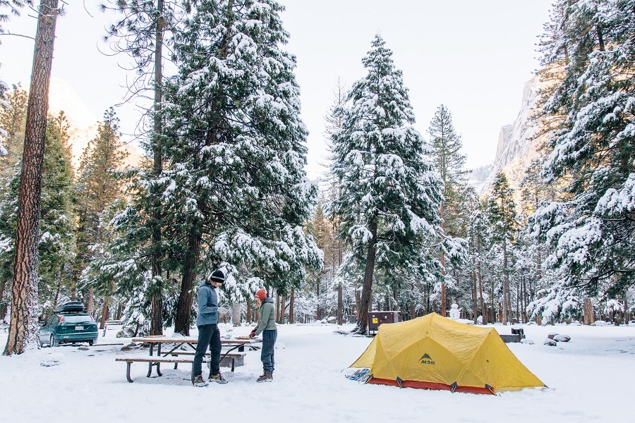 Choose A Tent for The Winter