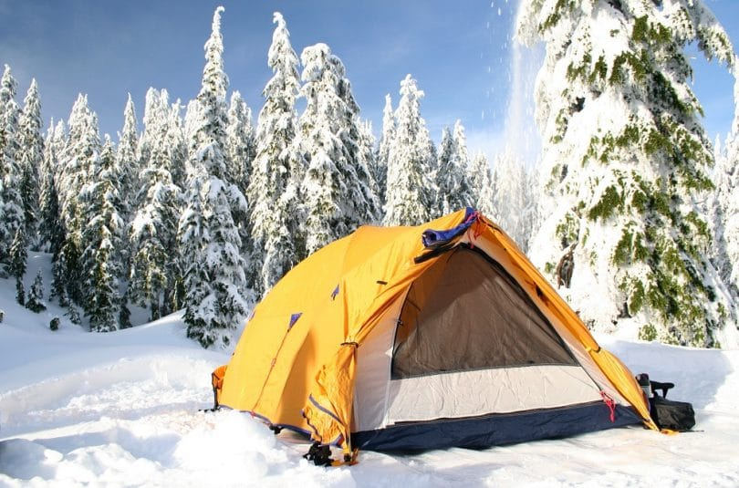 Cold weather tent review