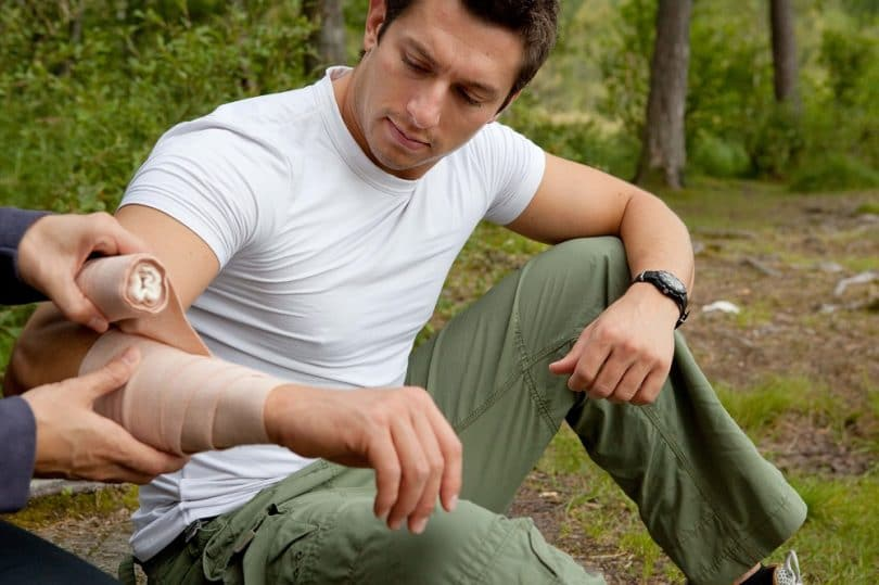 First Aid Care in wilderness