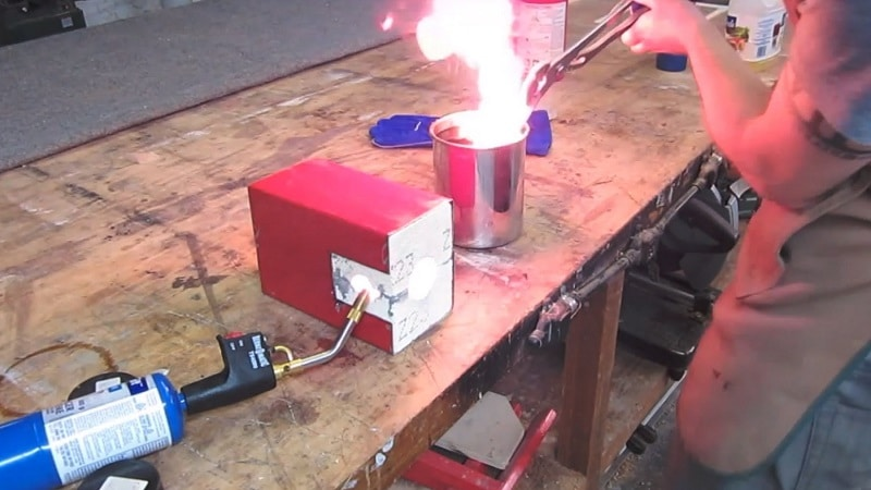 Heat Treating the Blade