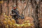 Hunting with crossbow guide