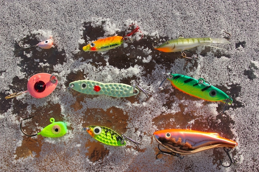 Ice fishing baits