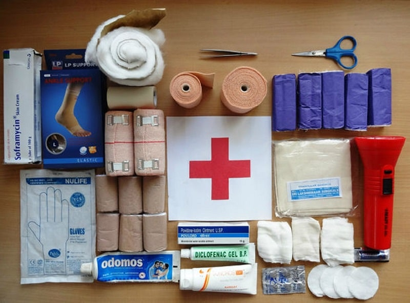 Items in the First Aid Kit