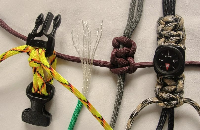 Making paracord bracelets