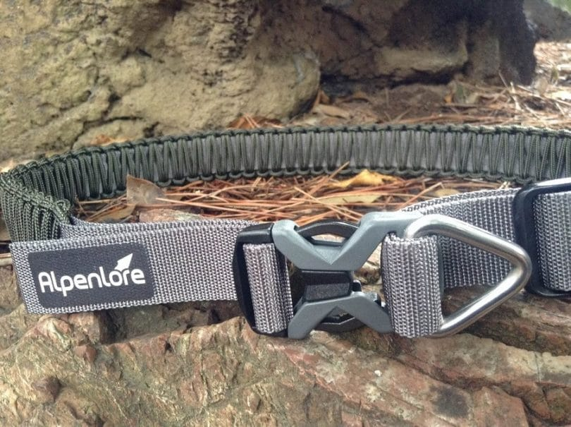 Paracord belt