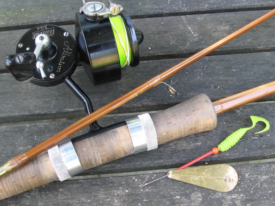 Spinning rods are the first kind