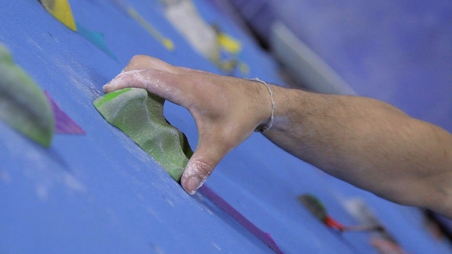 Using climbing holds