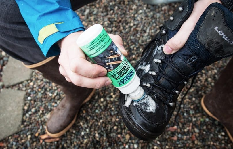 Waterproof your boots properly