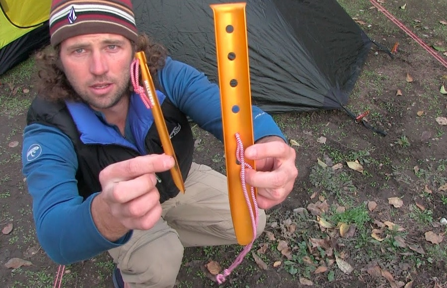 Winter tent Pegs