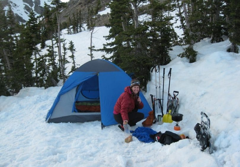 Winter camping guidelines