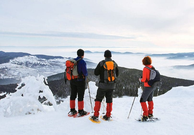 Backpacking in winter