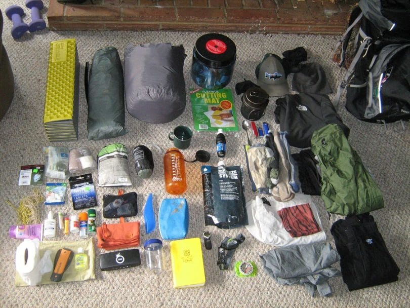Bacpacking gear review