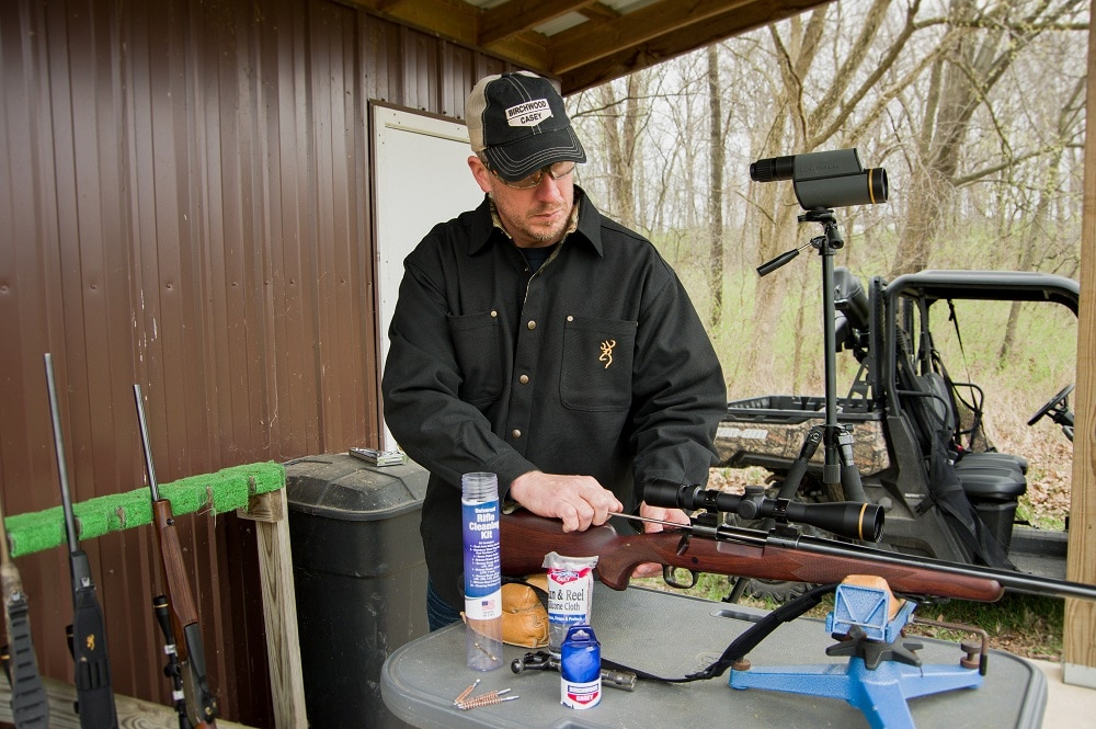 Basics of cleaning a rifle