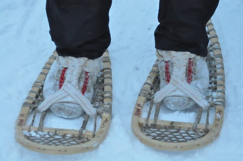 How to Make Snowshoes: Having Fun and