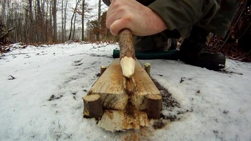 Fire plow method