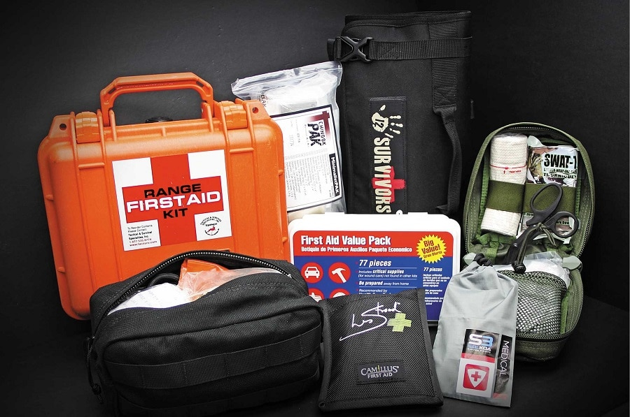 First aid kit for off grid living
