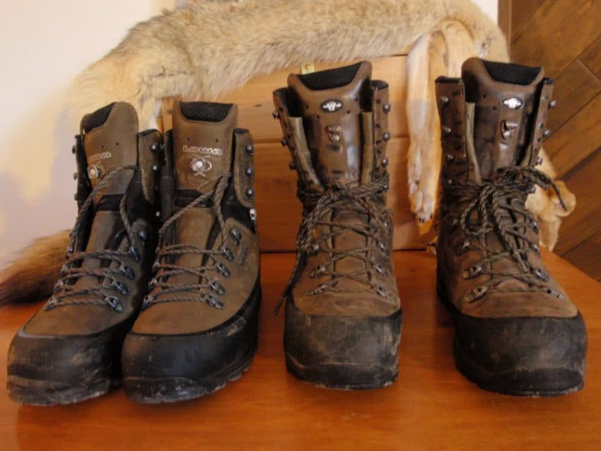 Hunting boots for autumn