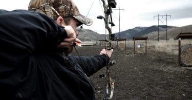 Learn to shot bow and arrow
