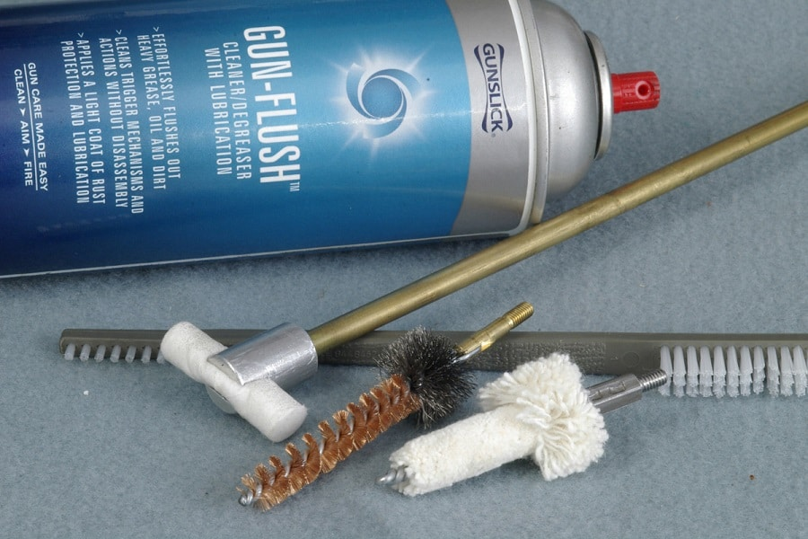 Lubricant and brushes