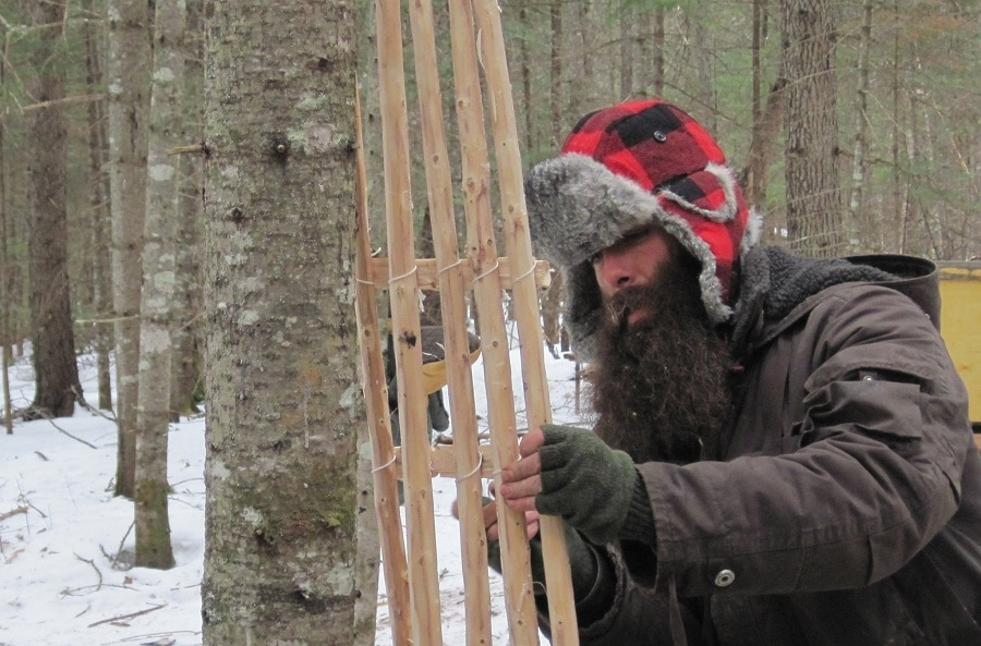 Makin' Snowshoes