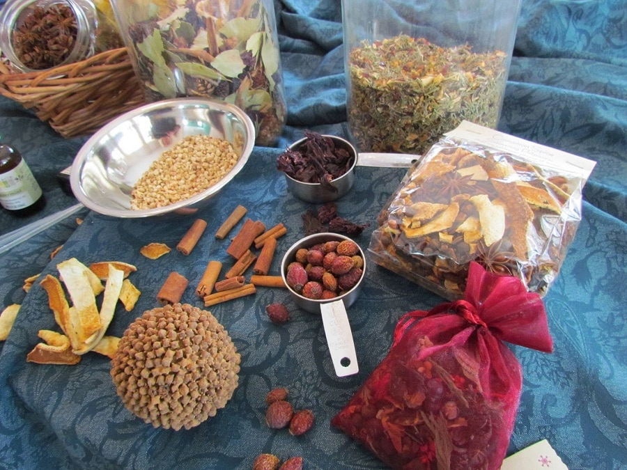 Making a potpourri