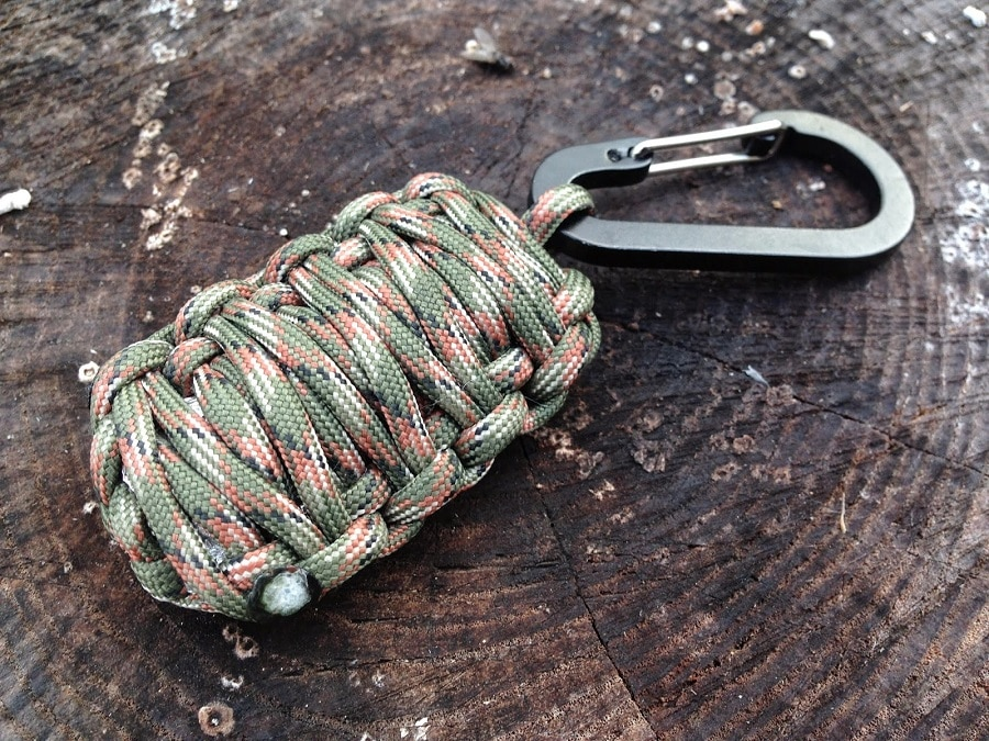 Paracord grenade the ultimate survival kit for Things you can do with paracord