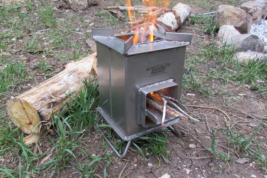 Rocket Stove for camping