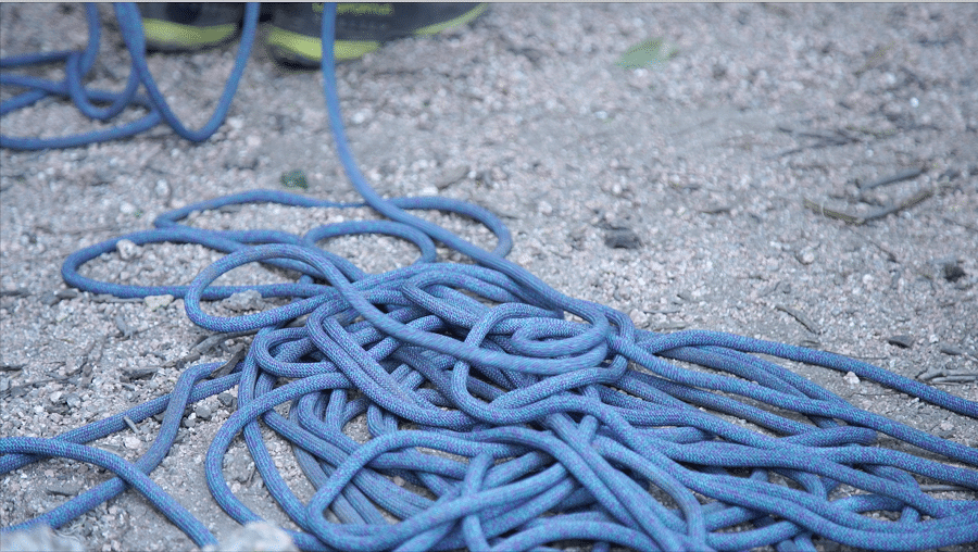 Rope for outdoor