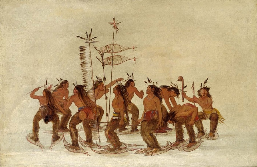 Snowshoeing History