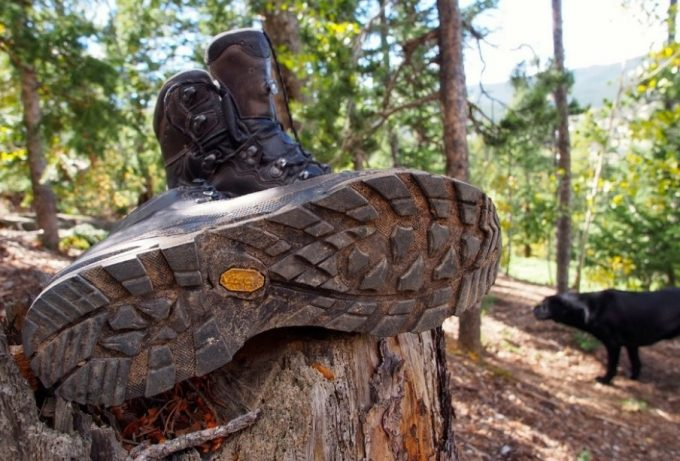 good traction on backpacking boots