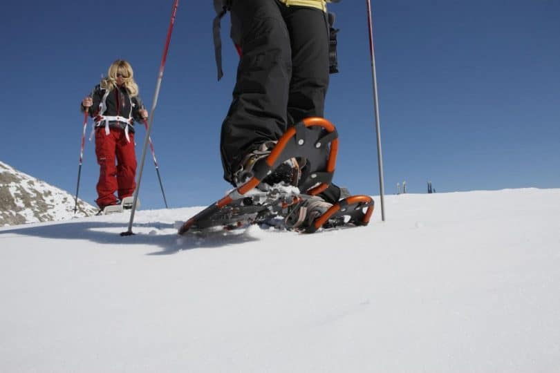 Learn the snowshoeing