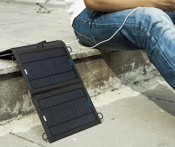 ANKER 8w Outdoor Solar Charger With Poweriq Technology