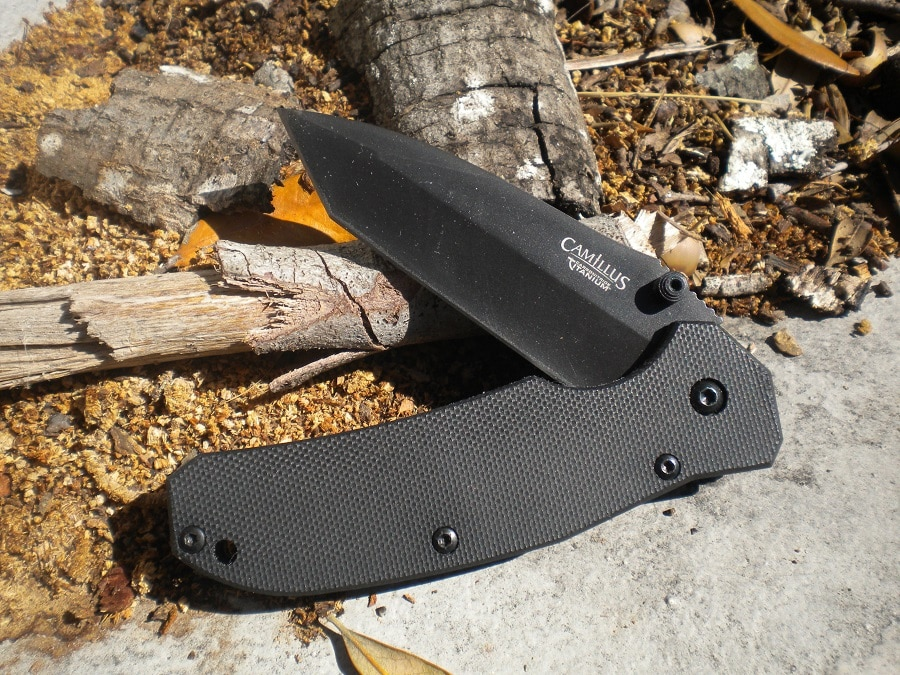 Camillus folding knife g10