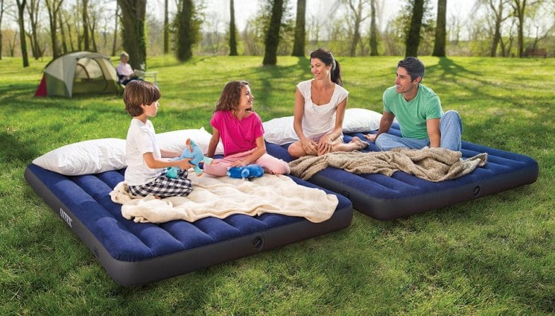 Camping air mattress review